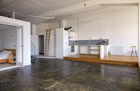 Small Mezzanine Bedroom by Duddington London E5 Open Plan Apartment Location Shootfactory
