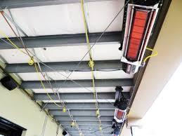mainstays large patio heater the habanero hab40s stainless 40 000 btu hanging patio heater