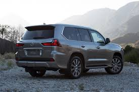 lexus land cruiser pics 2017 lexus lx 570 an easy to drive luxury beast suv review