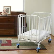 Folding Mini Crib by L A Baby Deluxe Holiday Crib 24