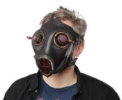 gas mask costume steunk gas mask thinkgeek