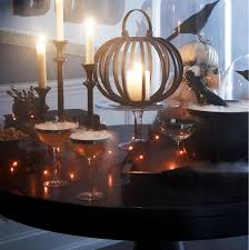 scary pumpkin coc halloween centerpieces decorations u0026 treats crate and barrel