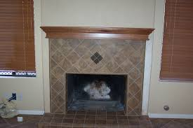fireplace mantel w clear finish