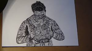 siege i size rainbow six siege echo drawing a4 size 2 50 picclick uk