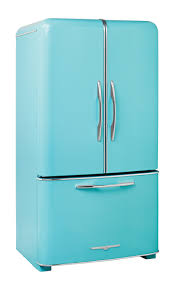 wonderful retro kitchen appliances featuring blue pink colors
