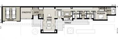 Long Narrow House Floor Plans Floor Plans For Long House Design Homes