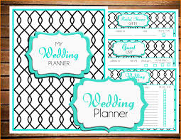 lovable free wedding planning free printable wedding planner