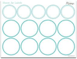 7 best images of printable blank mason jar lid label templates