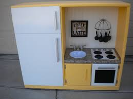 play kitchen ideas another play kitchen we made out of an entertainment center idolza