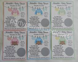 baby shower clothesline baby clothesline etsy