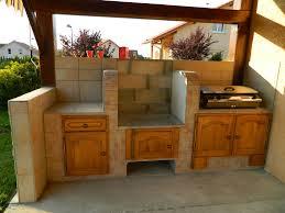 cuisine exterieure beton plan de travail exterieur beton awesome bien cuisine d ete en