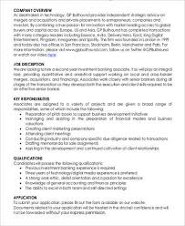 Teller Job Duties For Resume by Investment Banker Job Description Semister 2 Contents 2 What