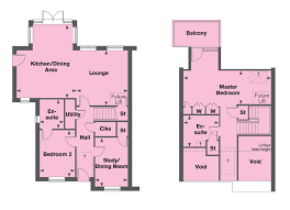 Chalet Bungalow Floor Plans Uk The Maple Pentland Homes New Build Homes And Developments In Kent