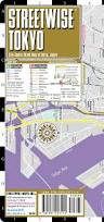 Tokyo Metro English Map by Streetwise Tokyo Map Laminated City Center Street Map Of Tokyo