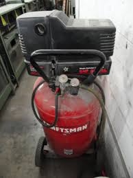 lot 43 craftsman 30 gallon 6hp gas electric air compressor