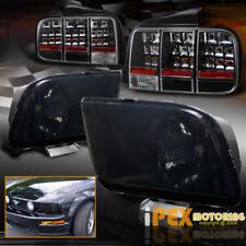 2005 Mustang Gt Black 2005 Mustang Tail Lights Ebay
