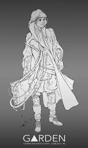 artstation character sketch a day june july 2016 tom garden