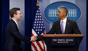 Obama No American Flag How Press Secretary Josh Earnest Made Sure He Knew What Obama Was