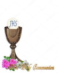 Holy Communion Invitation Cards Samples Holy Communion Invitation Background U2014 Stock Photo Irisangel