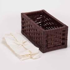 amazon com household essentials set of 3 paper storage