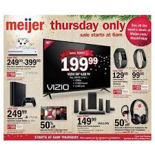 when does target black friday preview sale starts on wednesday meijers ads deals coupons and black friday info meijer