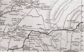 Washington County Pa Map by Ramblings Of A Military Historian Buford U0027s Route From Middletown
