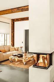 Wohnzimmer Ideen Mit Kachelofen Innenarchitektur Tolles Wohnzimmer Mit Trennwand Moderne Deko