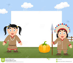 cute thanksgiving background thanksgiving native and wooden banner stock vector image 45760020