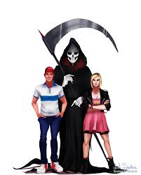 drawn grim reaper billy and mandy pencil and in color drawn grim