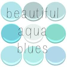 all benjamin moore blue seafoam gossamer blue glacier bay