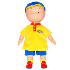 caillou classic caillou doll soft removable baseball cap