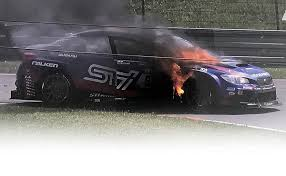 subaru fire subaru is burned in attempt to refedine its image