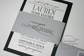 new years wedding invitations joseph new year s wedding invitations gourmet