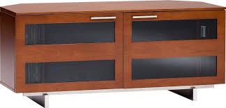 cherry corner media cabinet amazon com bdi avion corner 8925 low corner cabinet natural