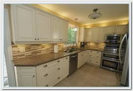 painted kitchen cabinet color ideas refinishing oak kitchen cabinets remix insider