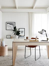 30 black and white home offices that leave you spellbound white scandinavian home office with a hint of black from plyroom