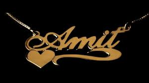 14k Gold Name Necklace 14k Gold Name Necklaces Collection Youtube
