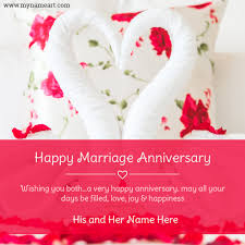 Wedding Wishes Online Editing Online Anniversary Card Maker Free