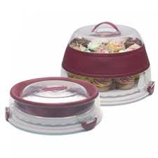progressive collapsible cupcake u0026 cake carrier for 41 00