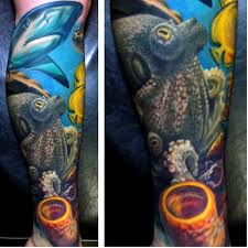 the 25 best underwater half sleeve tattoos ideas on pinterest