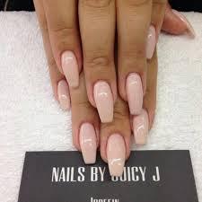 cream color nails