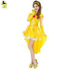 Belle Halloween Costume Women Popular Bell Girls Halloween Costume Buy Cheap Bell Girls
