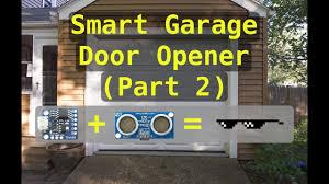 magic mesh garage door wifi controller garage door opener part 2 summer project
