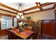 waltham massachusetts bungalow dining room with built in china