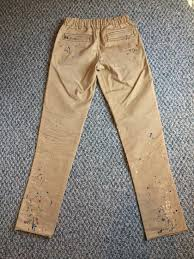 number n ine fw08 painted pants size 30 casual pants for sale