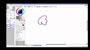 paint tool sai change the color of your lines and duplicate youtube