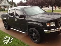 Dodge Journey Black Rims - 20 9 u2033 xd monster black wheels on a 2008 honda ridgeline