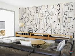 Funky Living Room Wallpaper - classic typography creative collage wallpaper 64 pieces u2013 funky store