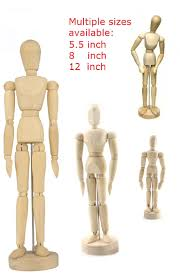 wooden artist mannequin wood figure manikin mannequin human artist drawing model 5 5 inch