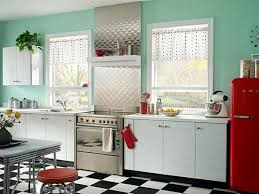 retro kitchen furniture gorgeous retro kitchen with blue walls and white cabinets with
